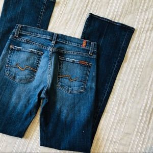 7 For All Mankind•Boot Cut Jeans